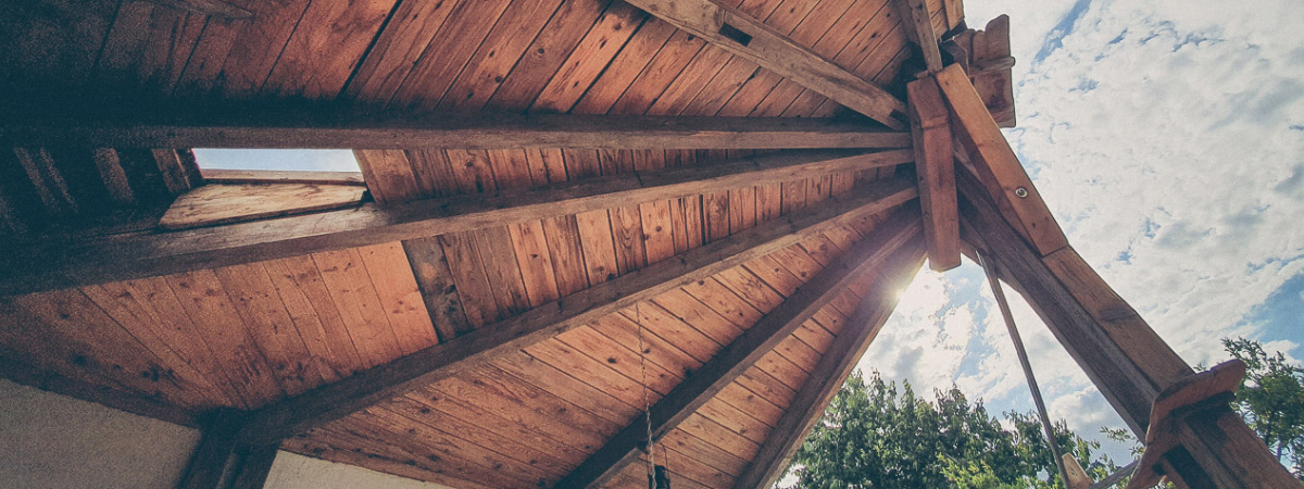 get a clear head - we build a roof