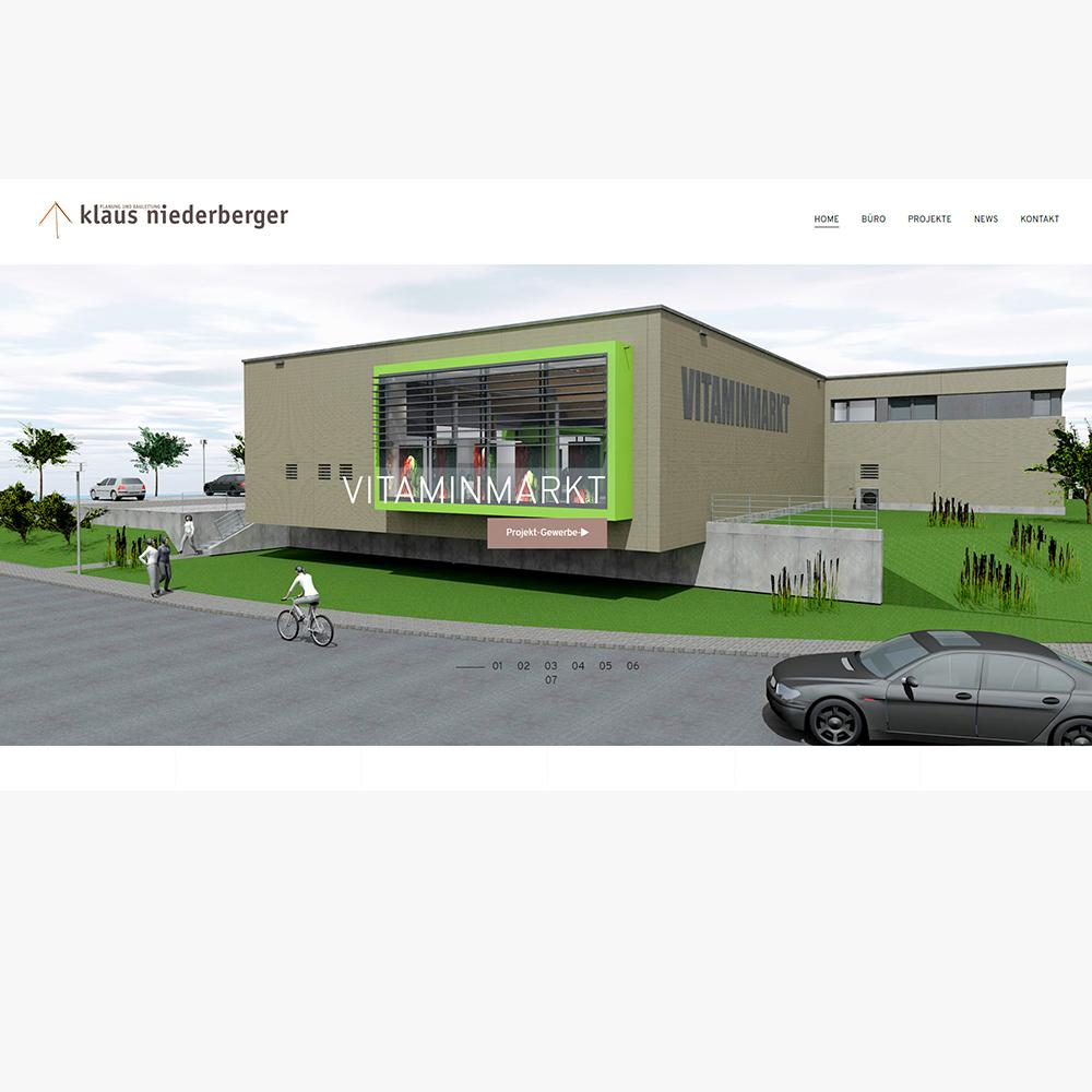 Webseite Klaus Niederberger